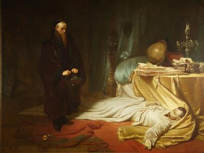 Seni at the Dead Body of Wallenstein, 1855