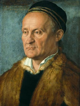 Portrait of Jakob Muffel (1471-152), 1526