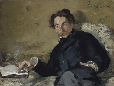 Portrait of Stéphane Mallarmé (1842-189), 1876