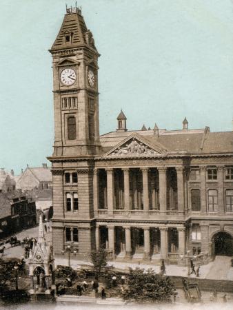 Art Gallery, Birmingham, West Midlands, Early 20th Century