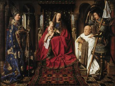 The Madonna with Canon Van Der Paele, 1436
