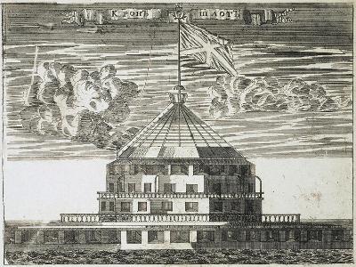 Fort Kronschlot in Kronstadt, 1717