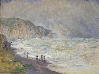 Heavy Sea at Pourville, 1897