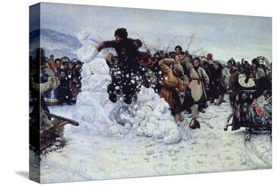 Storm of Snow Fortress, 1891