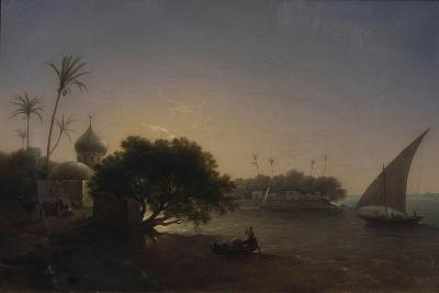 View of the Nile in Egypt, 1851