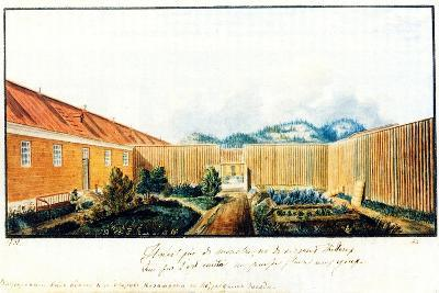 Courtyard in the Peter Prison, 1832