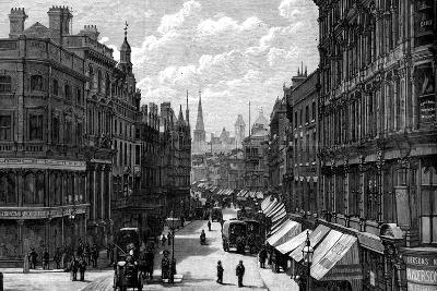 New Street, Birmingham, West Midlands, 1887