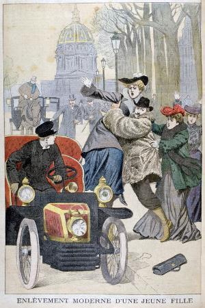 Kidnapping of a Young Woman in Paris, 1902