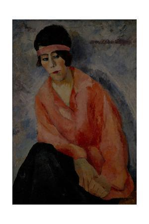Portrait of a Woman in Red, 1922