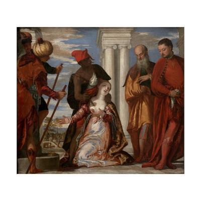 The Martyrdom of Saint Justine, 1570S