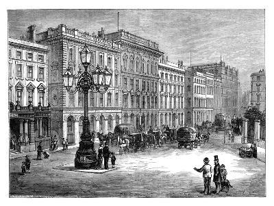 Portland Street, Manchester, Late 19th Century