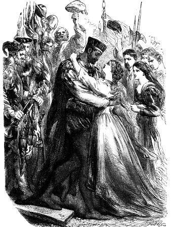 Scene from Shakespeare's Othello, 19th Century