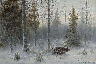 Bear in the Winter Forest, 1907