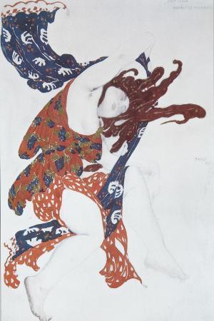 Bacchante. Costume Design for the Ballet Narcisse by N. Tcherepnin, 1911