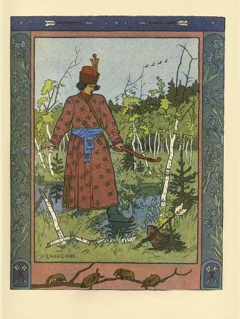 Ivan Tsarevich and Frog Princess, 1901
