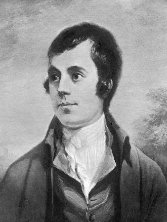 Robert Burns, Scottish Poet, 19th Century
