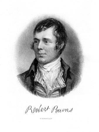 Robert Burns, Scottish Poet, 19th Century