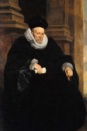 Portrait of a Genovese Gentleman, C. 1621