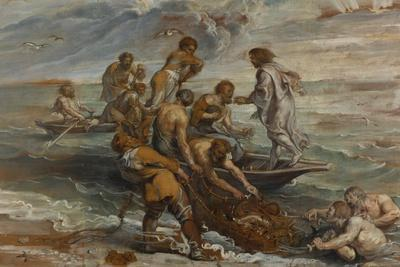 The Miraculous Draught of Fishes, 1618-1619