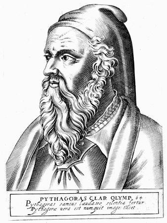Pythagoras (C560-480 B), Greek Philosopher and Scientist
