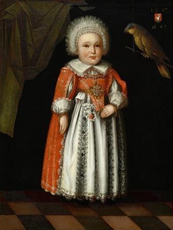 Johanna Katharina Steiger, Aged 2, 1643