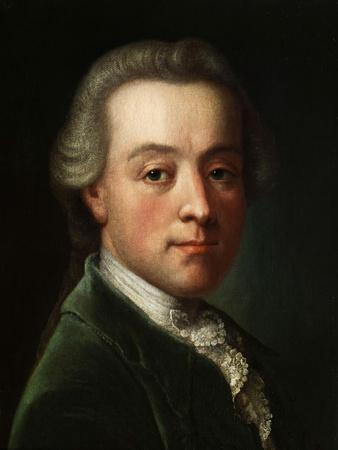 Portrait of the Composer Wolfgang Amadeus Mozart (1756-179), C. 1789