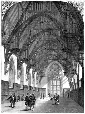 The New Middle Temple Library, 1861