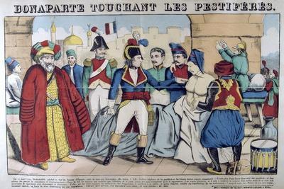 Napoleon Bonaparte Visiting the Plague Stricken of Jaffa, 11th March 1799, 19th Century