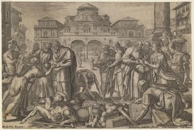 The Apostles Distribute the Money to Those in Need, Ca. 1600