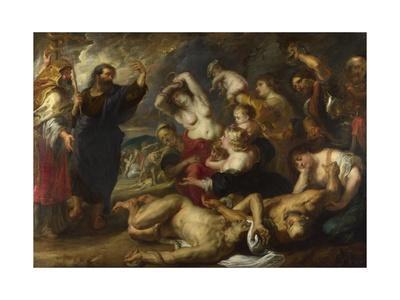 The Brazen Serpent, 1635-1640