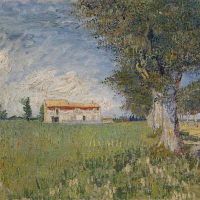 Farmhouse in a Wheat Field, 1888