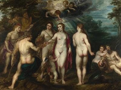 The Judgement of Paris, C. 1599