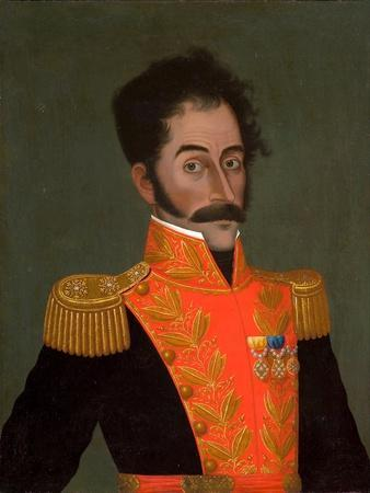 Portrait of Simón Bolívar, C. 1823