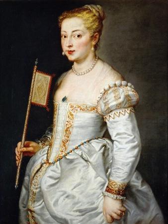 Girl with Fan, Ca. 1628-1629