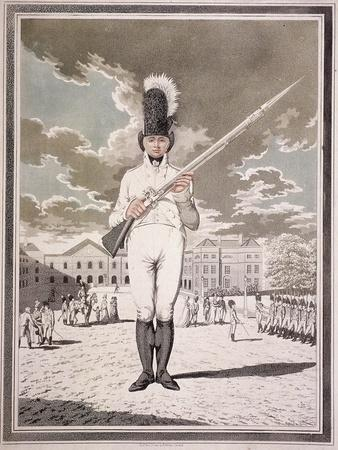 Military Figure in the Uniform of the Bloomsbury and Inns of Court Association, 1803