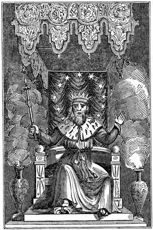 Thor, the Second God in the Ancient Scandinavian Pantheon, 1834