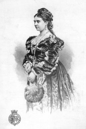 The Crown Princess of Germany, 1877