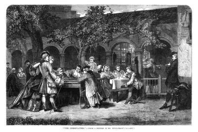 The Chessplayers, 1864