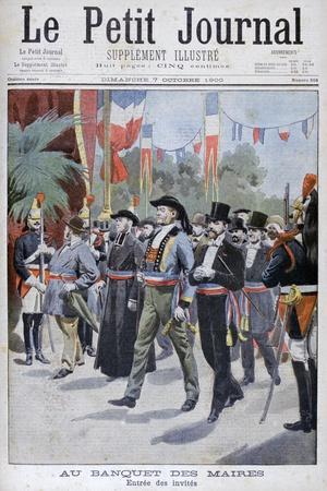 Mayor's Banquet, Paris, 1900