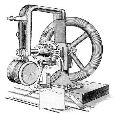 First Lockstitch Sewing Machine, Invented by Elias Howe, C19th Century