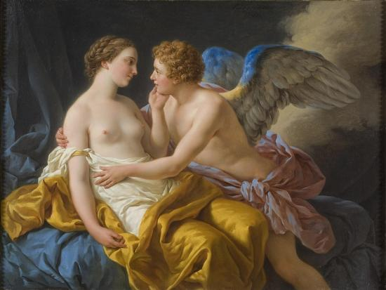 cupid and psyche before 1805 giclee print by louis jean françois
