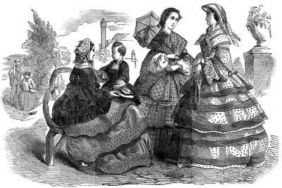 Fashions for August, 1857