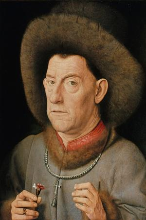 Man with Pinks, C. 1510