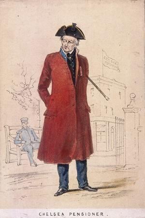 A Chelsea Pensioner, 1855