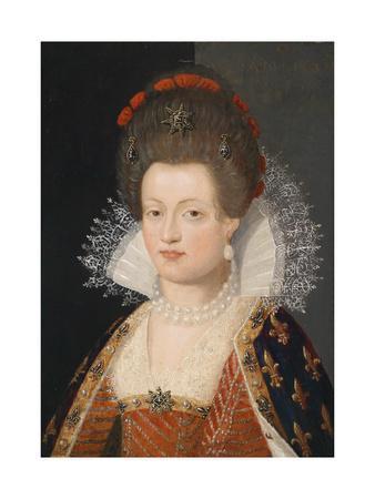 Portrait of Marie De Médici (1575-164), 1605