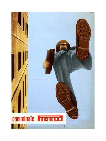 Advertisement for Pirelli Soles
