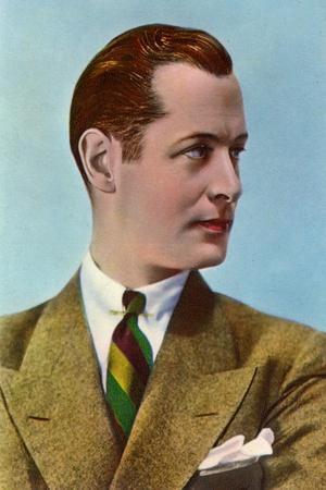 Robert Montgomery (1904-198), American Actor and Director, Early 20th Century