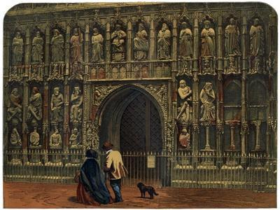 The West Front, Exeter Cathedral, 19th Century