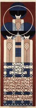 Poster for the Vienna Secession Exhibition, 1902