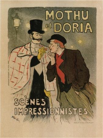 Mothu and Doria. (Scènes Impressioniste), 1893